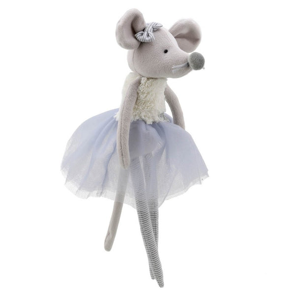 Wilberry Toys Grey Mouse Dancers Doll WB004108