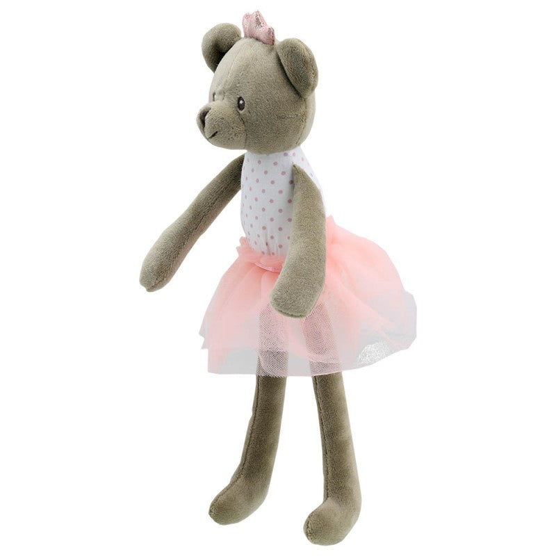 Wilberry Toys Pink Bear Dancer Doll WB004116 side