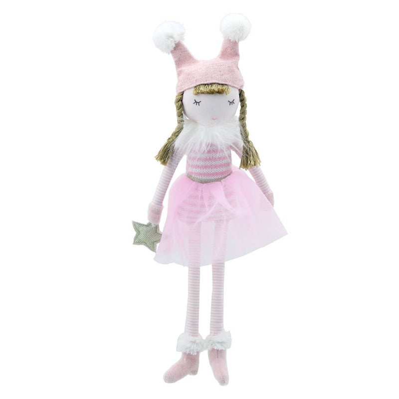 Wilberry Toys Small Pink Doll WB001014 front