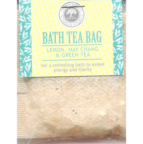 Wild Olive Lemon May Chang & Green Tea Bath Teabag