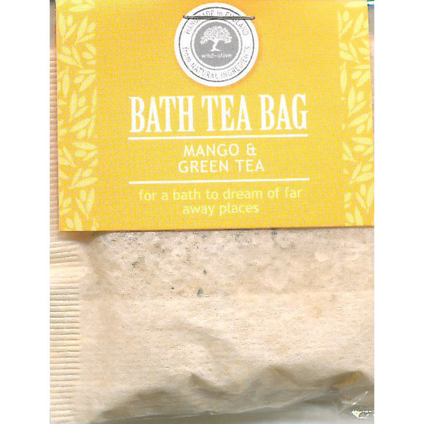 Wild Olive Mango & Green Tea Bath Teabag