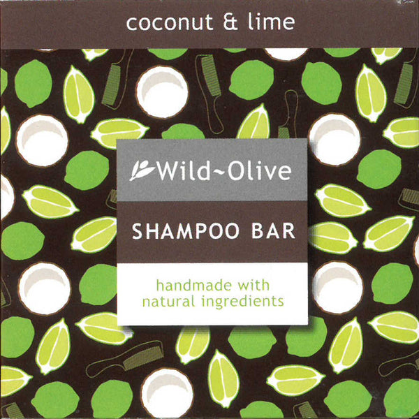 Wild Olive Shampoo Bar Coconut & Lime front