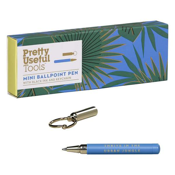 Wild & Wolf Pretty Useful Tools Mini Ballpoint Pen PUT005 open pen and box