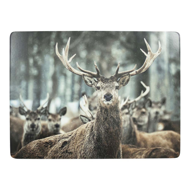 Winter Deer Placemat front