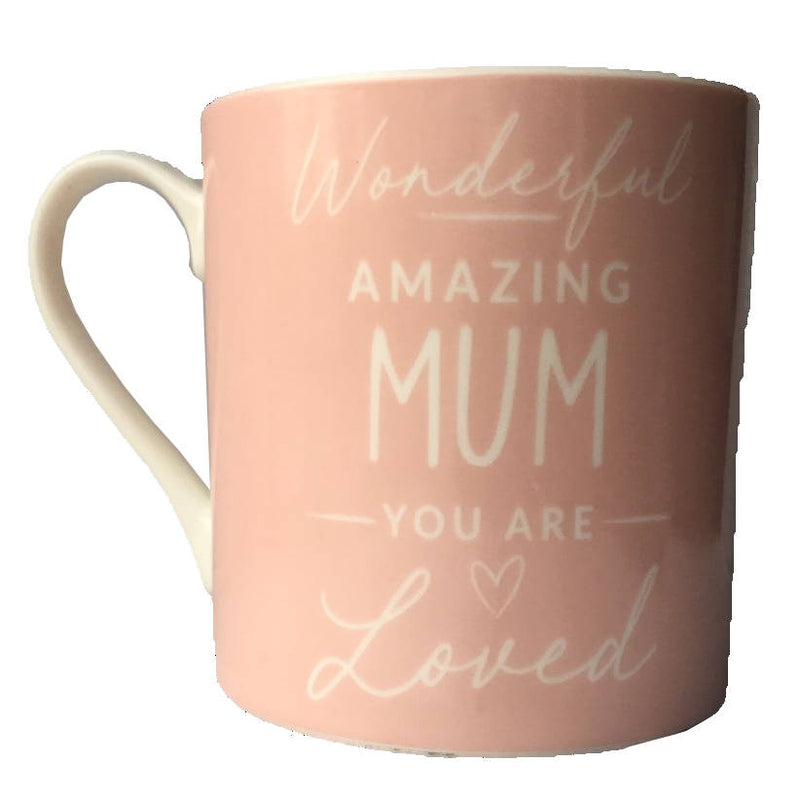 Wonderful Amazing Mum Mug back