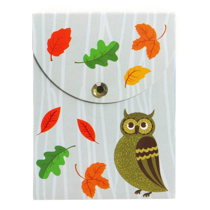 Woodland Mini Magnetic Notepad 402274 owl