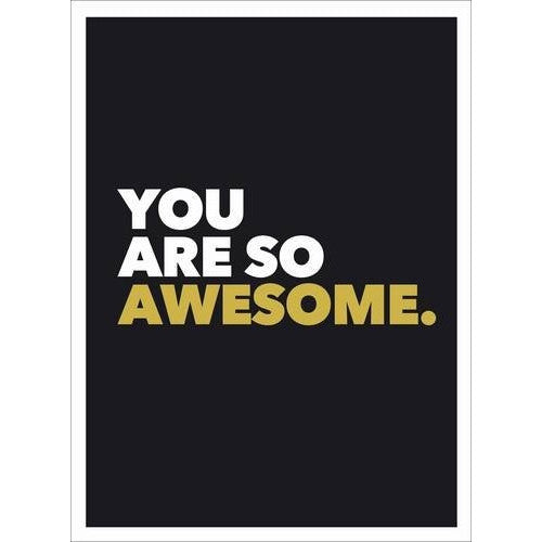 You Are So Awesome - book