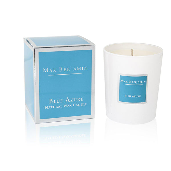 Max Benjamin Candle in Gift Box - Blue Azure