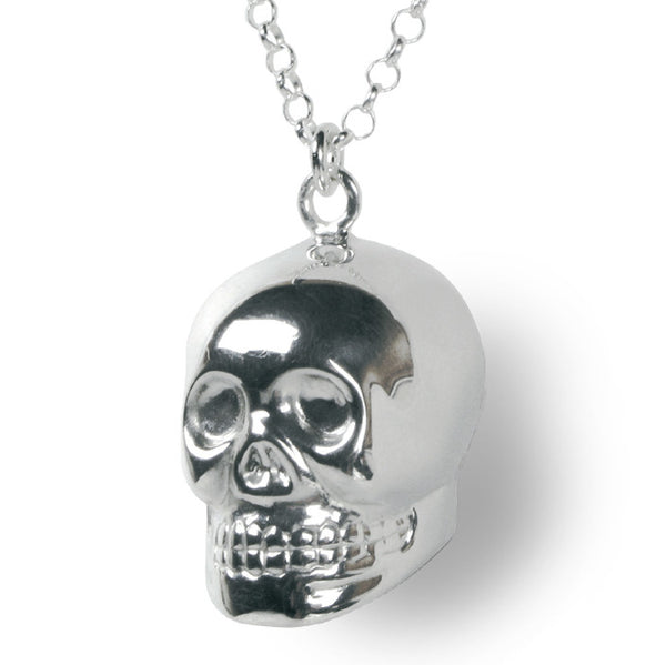 Chiming Skull Necklace