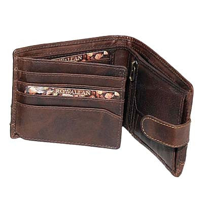 Panama Tabbed Flip Out Wallet