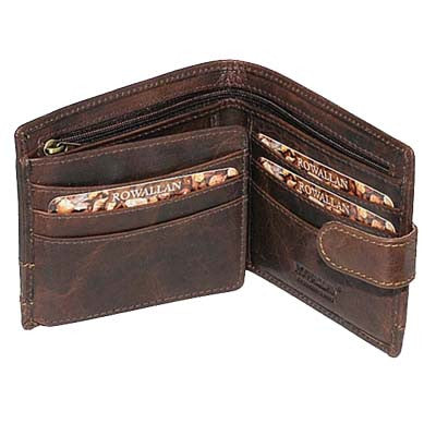 Rowallan Wallet - Panama Tabbed Flip Out Wallet