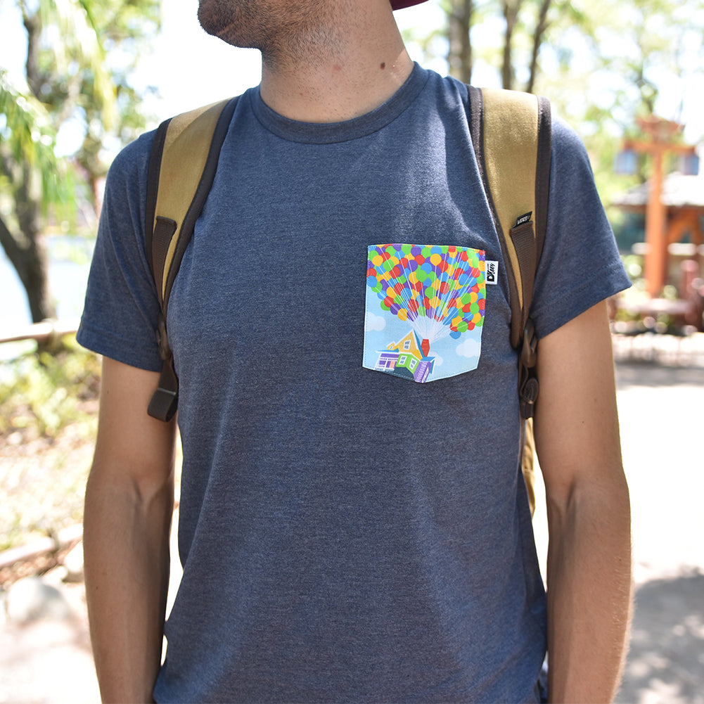 Adventure Collection Crew Pocket Tee | www.d3tees.com