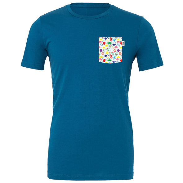 PLM Princess Crew Tee, Deep Teal