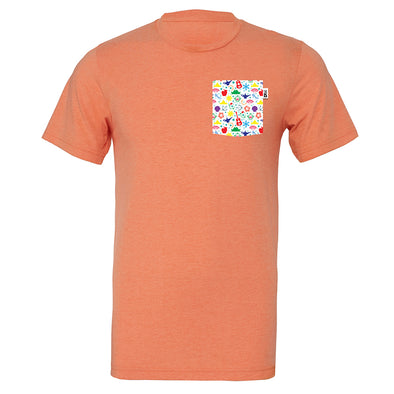 PLM Princess Crew Tee, Heather Orange