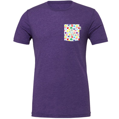 PLM Princess Crew Tee, Heather Purple