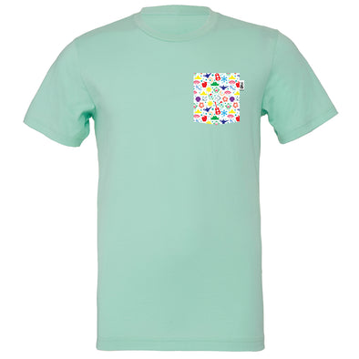 PLM Princess Crew Tee, Mint