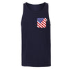 American Mouse Unisex Tank, Navy