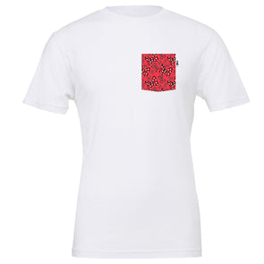 Bowtiful Pocket Tee - White