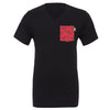 Bowtiful V-Neck Tee, Black