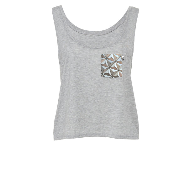 Classic SSE Crop Tank, Athletic Heather