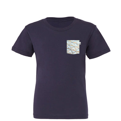 Classic SSE Youth Tee, Navy