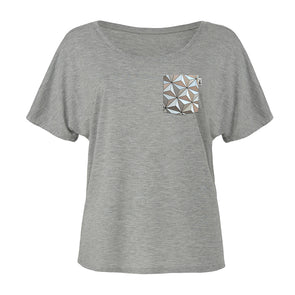 Classic SSE Slouchy Scoop Tee, Athletic Heather