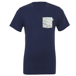 Classic SSE V-Neck Tee, Navy