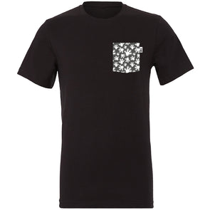 High Four Crew Tee, Black