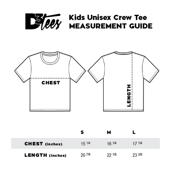 Monsters Youth Tee, White