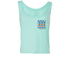Monorail Crop Tank, Mint