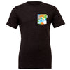 ORL Crew Tee, Heather Black
