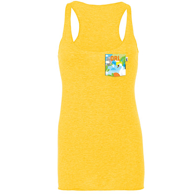 ORL Racerback Tank, Heather Yellow