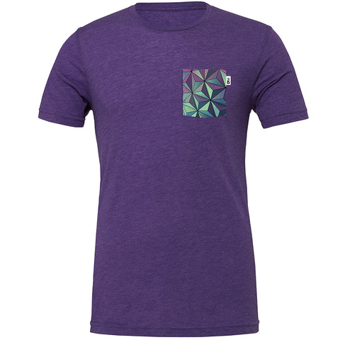 SSE Crew Tee, Heather Purple