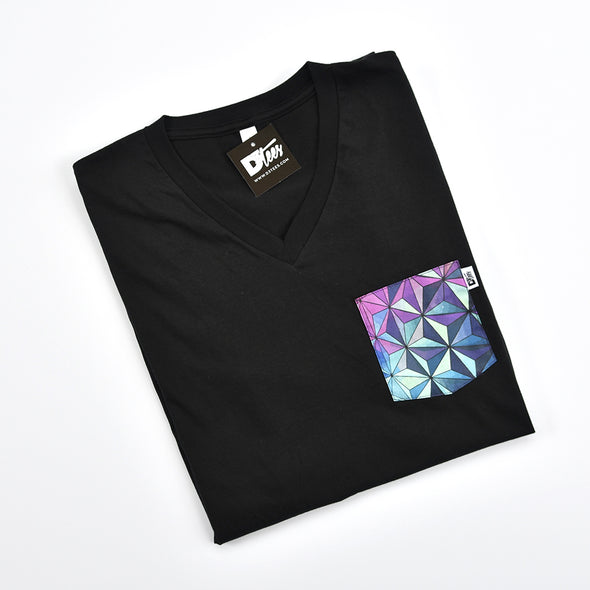 SSE V-Neck Tee, Black