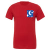 Sorcerer Crew Tee, Canvas Red