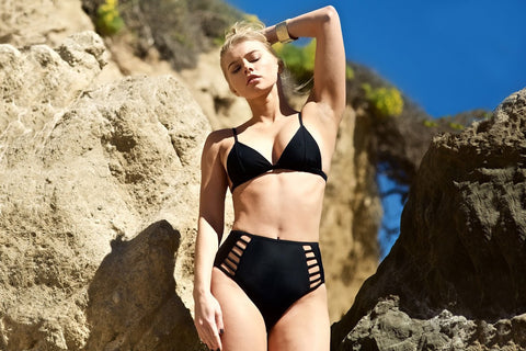 High-Waisted Bikini Bottom