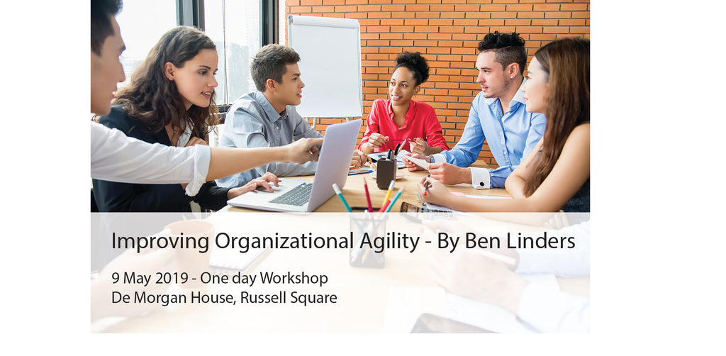 Improving Organizational Agility - with Ben Linders