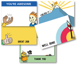 Appreciation Postcards - Pack of 12 postcards