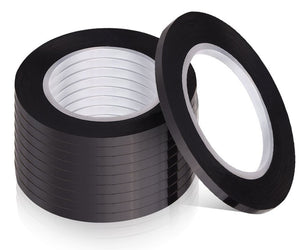 Whiteboard Marking Tape Black - 5 rolls