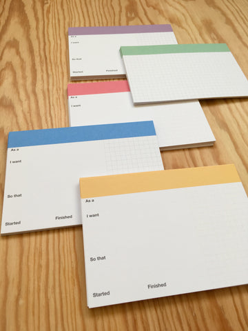 Pro Index Cards - Opinionated (5 colours)