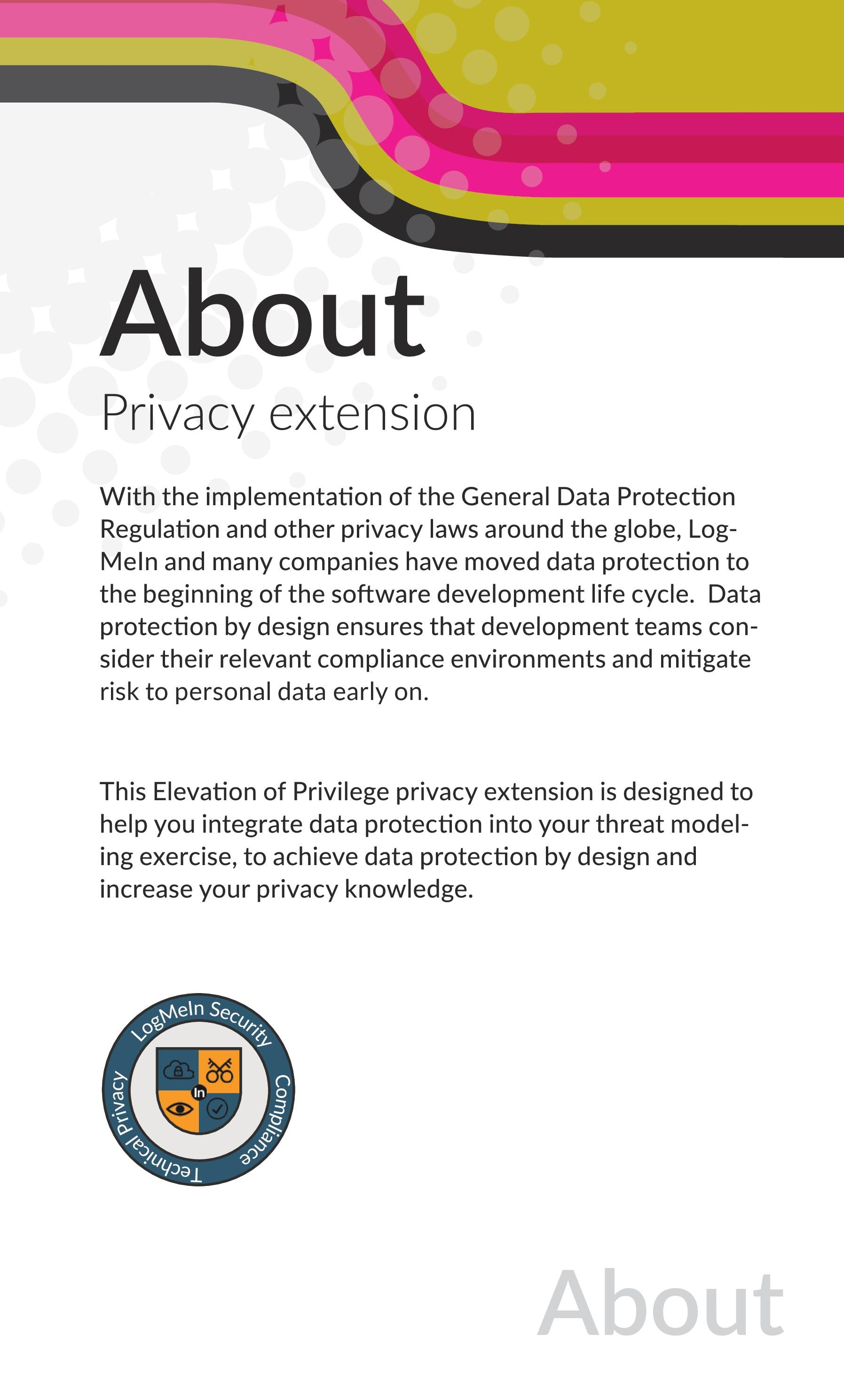 Elevation of Privilege Threat Modeling Cards - with PRIVACY
