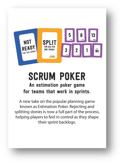 Scrum Poker Cards for Planning Poker for Scrum Teams