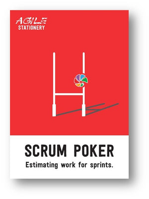 Scrum Poker Cards - 6 Players set