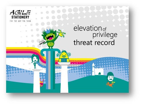 Threat Cards for Elevation of Privilege