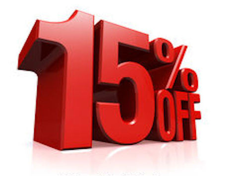 Last 5 days for 15% discount - Sale ends Sunday!