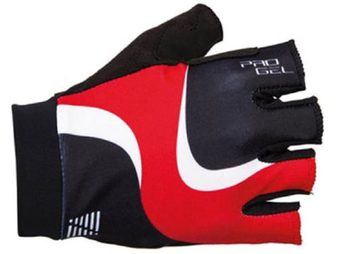 ALTURA Women's Pro Gel Cycling Mitts with Comfort Gel Palms: Black/Red