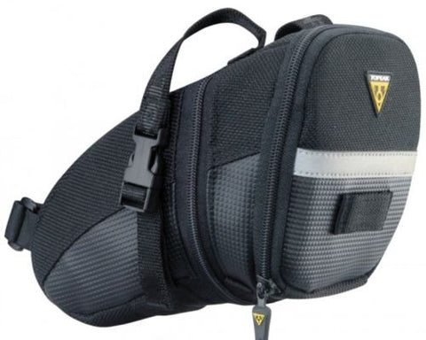 TOPEAK Aero Wedge Pack Under Saddle Seat Bag Pack with Straps