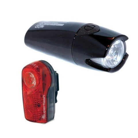 SMART Lunar 60 Lux Front with 1/2 Watt Rear Bicycle Light Set