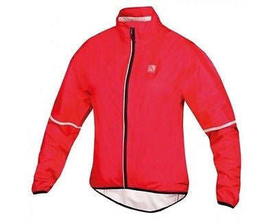 ALTURA Women's Flite Jacket. Lightweight Waterproof & Compact for Cycling / Running: Red
