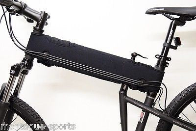 MONTAGUE Bikes Protective Neoprene Frame Cover for Montague MTB's: Black
